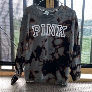 PINK small V sweater